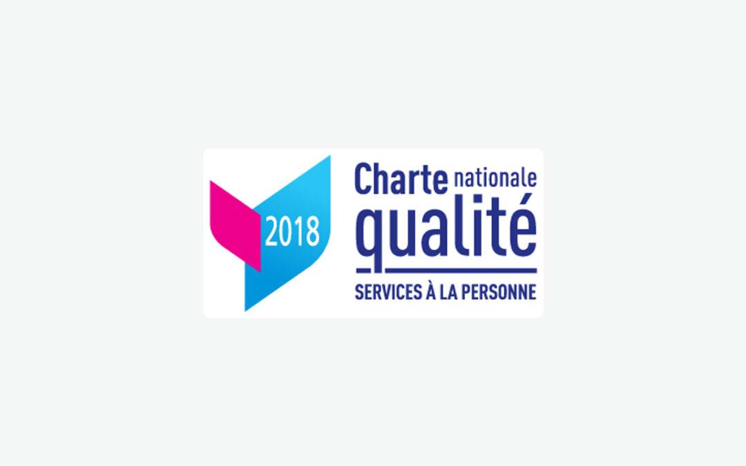 Adhérent à la charte nationale qualité des services à la personne.